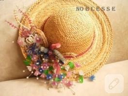Minik Hasır Şapka