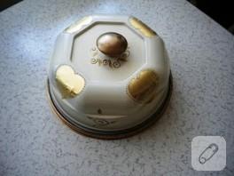 hamur kabartmasız kek fanusu:))