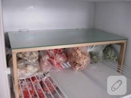 Buzdolabına raf