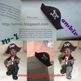 Korsan Şapkalı Kitap Ayracım