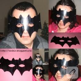 embir batman maskesi yaptı