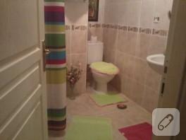 Klozet Takımım ve yeni banyo dekorasyonum