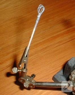 Minyatur Cirpma teli yapiyoruz!