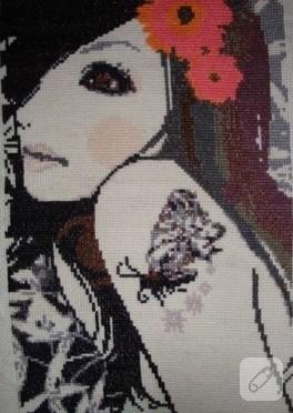 Kelebekli kız:))
