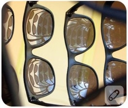 Güneş Gözlüklerini Gözümüzün Dışında Kullanabileceğimiz Bir Yer Buldum