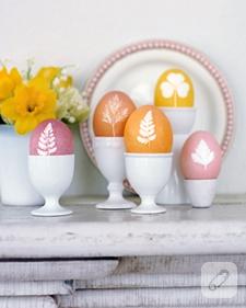 süslü püslü rengarenk yumurtalar…