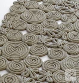 spirallerden oluşan halı