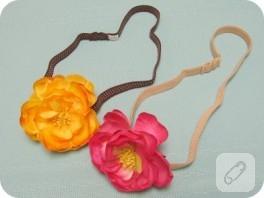 Çiçeklerden Saç Bandı