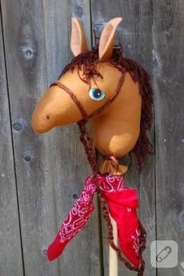 çocuklara güzel bir at
