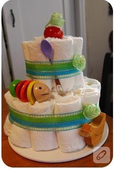 bebek bezi pastası!