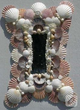 Deniz Hazinelerinden Ayna Süslemeleri:)
