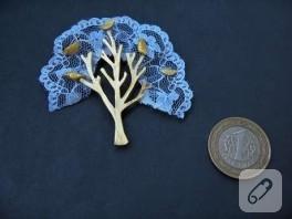 Fiamma'nın Minyatür Takıları/Dantel Ağaç
