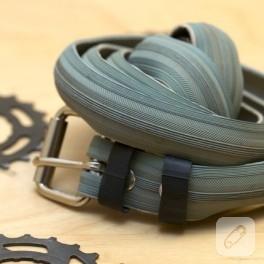 Bisiklet lastiğinden kemer