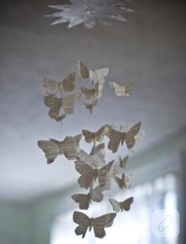 Odamda Uçuşan Kelebekler