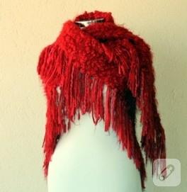 Kırmızı Şal