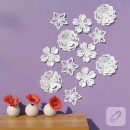 Duvarlara origami…