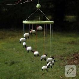 Keçe koyunlar :)