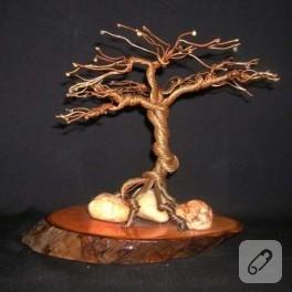 Tel bükme ağaç