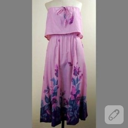 Straples Günlük Elbise
