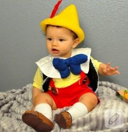 Tatlı Bebek Ve Pinokyo Kostümü