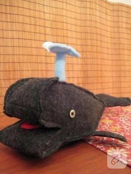 Su fışkırtan balina!!