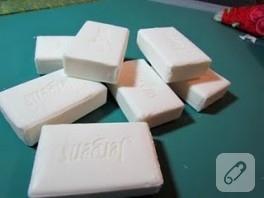 Dekupaj ile sabun süsleme: kuşlu sabunlar