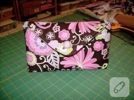 Zarf şeklinde cüzdan