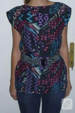 Basit Tunik/Bluz Dikimi