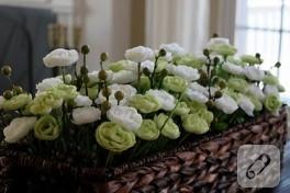 yapay çiçek kutusu