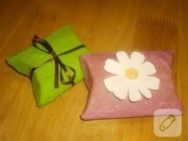 Çok basit hediye kutusu yapımı…