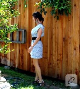 kolay ve ayrıntılı elbise dikimi