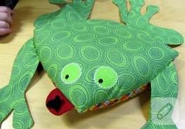 Küçük kurbağa vrak dedi :))