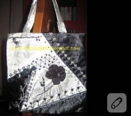 Işıltılı bir çanta
