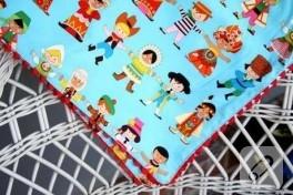renkli bebiş battaniyesi