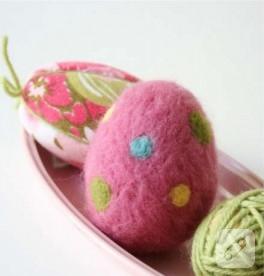 Keçe Yumurta Yapımı