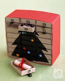 Kibrit kutularından mini organizer