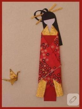 kimonolu geyşa kendin yap paketinde