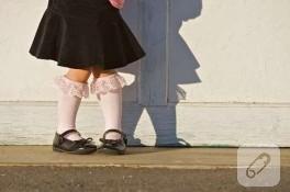 Küçülen Külotlu Çorapları Atmayın