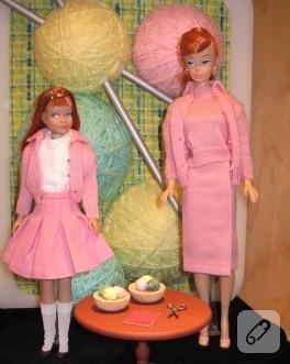 Barbie'ler de örgücü oldu :D
