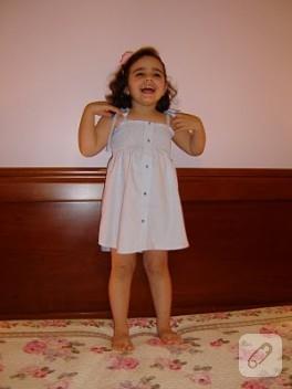 Gömlekten Lastikli Elbise