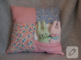 Yastıklı tavşanlar ya da tavşanlı yastıklar..
