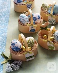 Dekupajlı Yumurtalar…