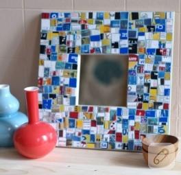 Kredi Kartından Mozaik Ayna