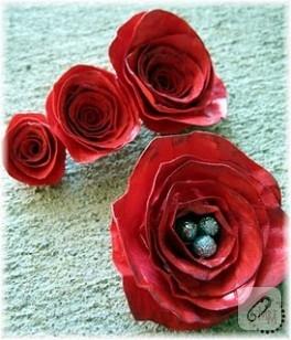 Kağıttan Seramik Gibi Çiçek Yapımı…