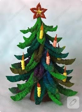 kağıttan noel ağacı