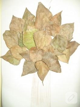 Yapraklardan sonbahar hatırası