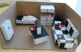 Kibrit Kutularından Minyatür Mobilyalar