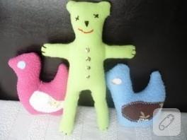 Mutlu çocuklar için oyuncaklar bitti