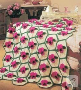 Çiçekler Battaniyemin Üzerinde Duruyooo