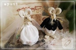 Aşık farelerin düğünü:)